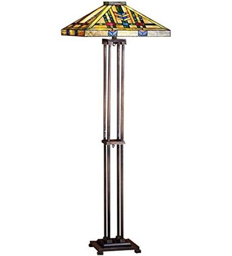 2-Light Prairie Wheat Floor Lamp