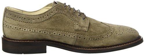 Marc OPolo Lace Up Shoe 70823773402303, Scarpe Stringate Brouge Uomo Marrone E (Taupe)