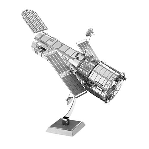 Metal Earth Fascinations MMS093 502513, Hubble Telescope, Construction Toy - 1 Board, Ages 14 +