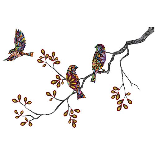 irds and Branch Decal Wall Sticker Direction, Right-Facing ()