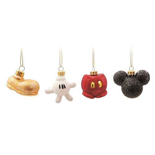 Enfeite para Arvore de Natal Disney KIT Miniaturas Mickey Jogo - 4 Unidades
