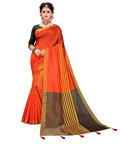 Buy Being Banarsi women's tussar silk saree at Amazon.in