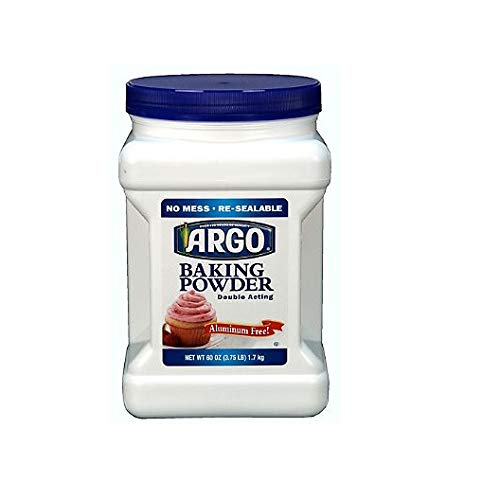 ARGO Baking Powder - 60oz - CASE PACK OF 4 by ARGO [Foods]