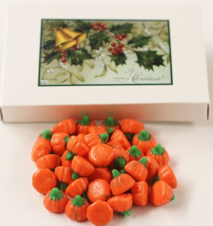Scott's Cakes Mellocreme Pumpkins in a 1 Pound Mistletoe (Scotts Cakes Mellocreme Pumpkins)