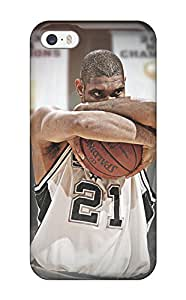 Hot Tim Duncan First Grade Tpu Phone Case For Iphone 5/5s Case Cover hjbrhga1544