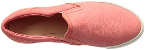 Coral Mocassins Puppet Nubuck Femme Clarks Glove Rose Loafers EYFWfAxq