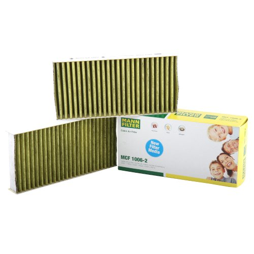 Mann Filter MCF 1006-2 Cabin Air Filter with Polyphenol Layer