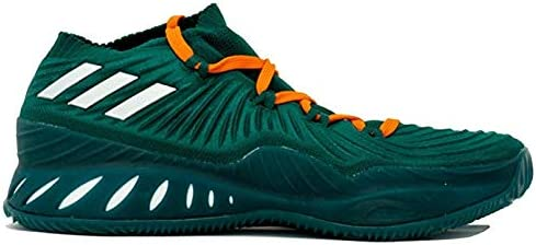adidas Crazy Explosive Low Shoe Men's Basketball 7 Green-Orange Solid