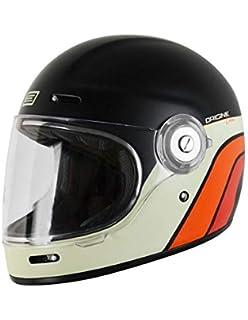 Origine Vega - Casco integral de fibra de vidrio, estilo Café Racer, vintage XXL