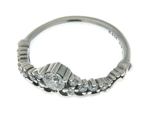 4bae22d16 Pandora Ring 196226CZ-54 Silver Zirconia Tiara Fairy Tale ...