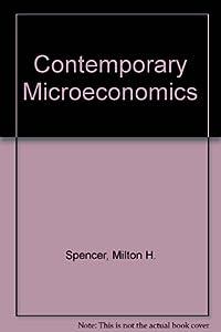 Paperback Contemporary Microeconomics Book