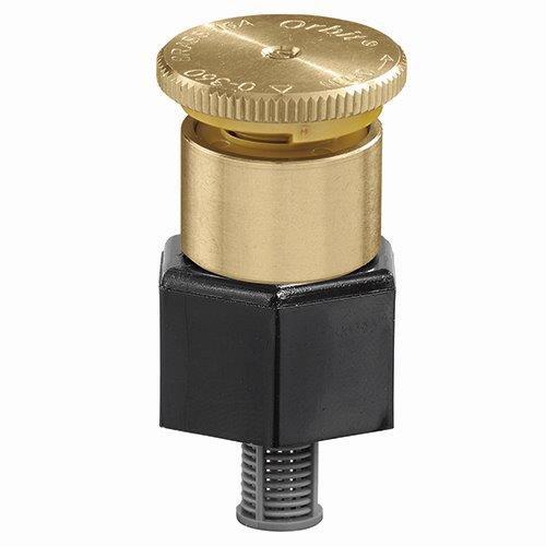 Orbit Adjustable Pattern Brass Shrub Irrigation Head   15 Foot Spray Radius Watering Sprinkler - 54054 (10) by Orbit