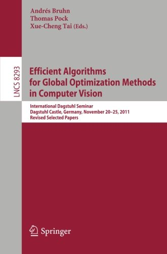 Efficient Algorithms for Global Optimization Methods in Computer Vision: International Dagstuhl Seminar, Dagstuhl Castle, Germany, November 20-25, ... Papers (Lecture Notes in Computer Science)
