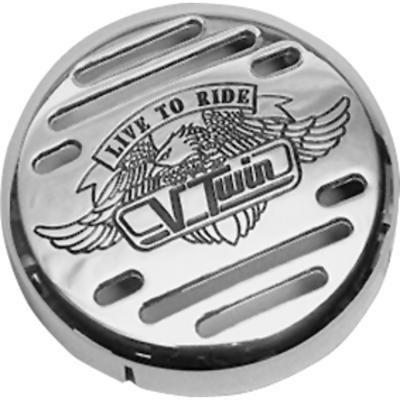Big Twin Parts (Big Bike Parts V-Twin Abs Horn Cover)