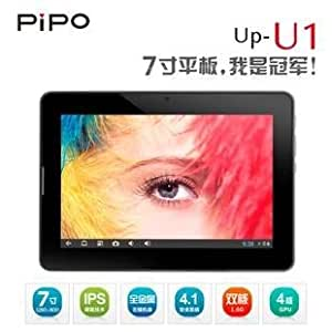 Product platinum Pipo U1 dual-core 1.6GB Tablet PC 1280x800 Bluetooth Android 4.1 to send the original clip