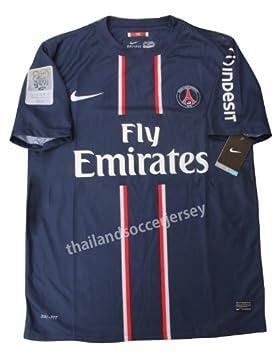 New 12-13 DAVID BECKHAM Jersey  32 Home PSG Paris Saint Germain League 1 Football  Shirt (US XL) 9e29e6f56