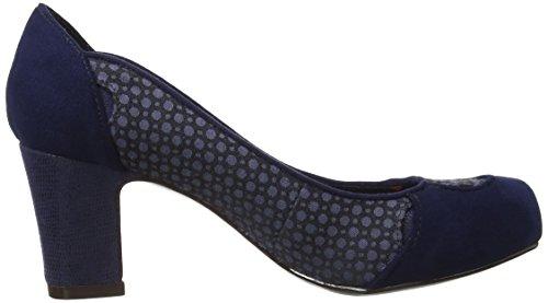 Ruby Shoo Ali - zapatos de vestir de sintético mujer Navy
