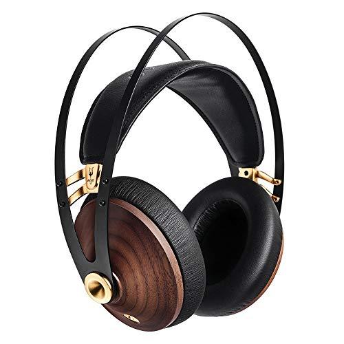 Headphone Grado Black (MEZE HEADPHONES 99 Classics Walnut Gold Headphones (Gold Black))
