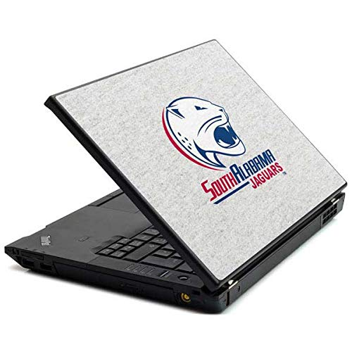 Skinit South Alabama Jaguars Heather Grey T440s Skin - Officially Licensed Learfield Collegiate Laptop Decal - Ultra Thin, Lightweight Vinyl Decal Protection