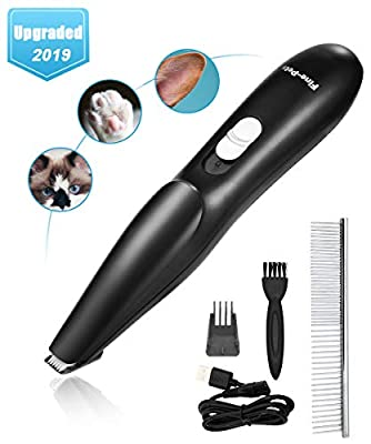 Lovav Dog Clippers,Dog Grooming Clippers Kit for Small Dogs Cats, ProfessionalDog Clippers Cordless Low Noise Pet Trimmers for Small Dogs Hair Around Face,Paws,Eyes,Ears,Rump