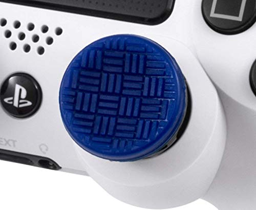 KontrolFreek Omni for PlayStation 4 (PS4) and PlayStation 5 (PS5) | Performance Thumbsticks | 2 Low-Rise Concave | Blue 5