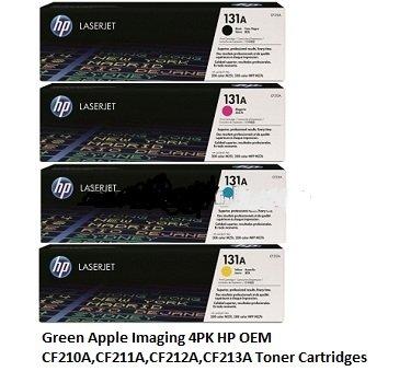 hp-oem-131a-4pk-toner-cartridges-for-hp-laserjet-pro-m251nw-m276nw-printers-cf210a-blackcf211a-cyanc