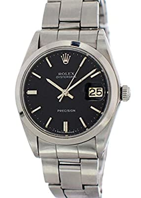 Rolex Oysterdate Mechanical-Hand-Wind Male Watch 6694 (Certified Pre-Owned) by Rolex