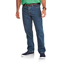 Faded Glory Men's Relaxed Fit Blue Jeans (Regular and Big & Tall Sizes)
