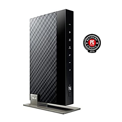 ASUS DSL-AC68U AC1900 Dual-Band Wireless VDSL//ADSL 2 Gigabit Modem Router USB 3.0 for Media Server for Phone Line Connections - BT Infinity, YouView, TalkTalk, EE and Plusnet Fibre