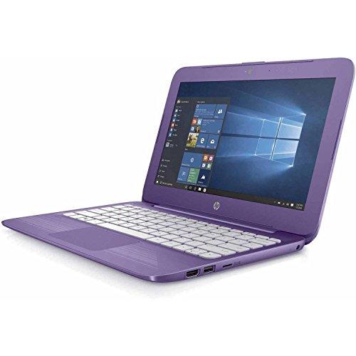 HP 11-y020wm Stream Notebook N3060 1.6GHz 4GB RAM 32GB HDD Windows10 - Purple