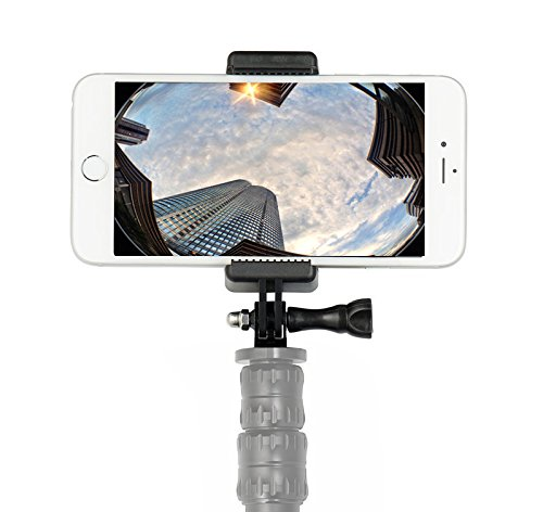 Universal Smartphone Holder w//GoPro Style Mount Attachment for any Phone Connect Your Phone to Any GoPro Mount 4351497225 OCTO MOUNT