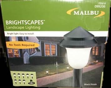 Malibu Brightscapes Landscape Lighting Black Finish 099206 LX40308TL & Amazon.com : Malibu Brightscapes Landscape Lighting Black Finish ... azcodes.com