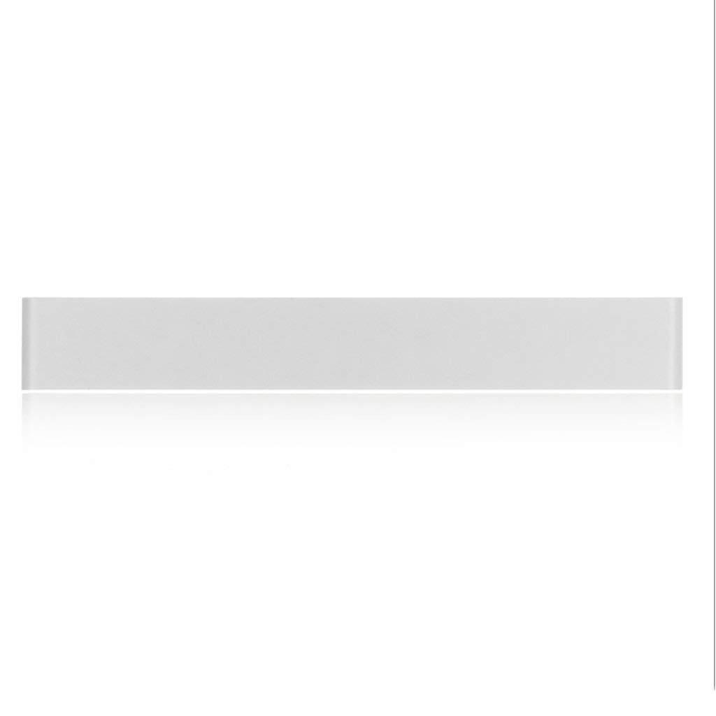 Schwarze und Weiße LED Wandleuchte Badezimmer Spiegel vorderen Leuchte Wohnzimmer Aluminium Wandleuchten Schlafzimmer Nachttischlampe (Farbe  Weiß-14 W-Weißes Licht)