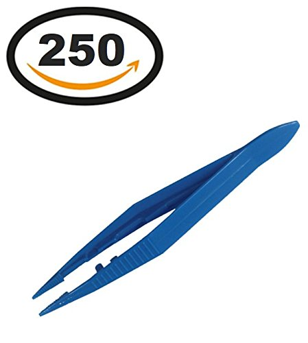 250 Vakly Plastic Forceps/Tweezers (Tweezer Plastic)