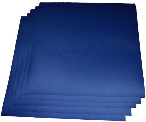 Expressions Vinyl - Dark Blue  5-pack of adhesive vinyl shee