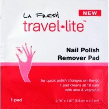 dolly2u LA Fresh Travel Lite Nail PolishRemover Pad Case Pack 200 by dolly2u