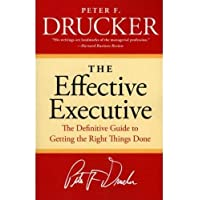 The Effective Executive by Peter F Drucker - Paperback