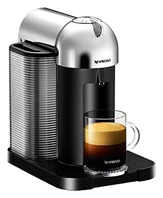 Nespresso Vertuo Coffee and Espresso Machine by Breville, Chrome BNV220