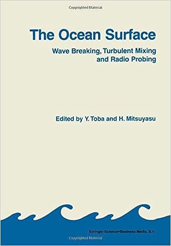 Ebook ita kostenloser download epub The Ocean Surface: Wave Breaking, Turbulent Mixing and Radio Probing 9048184150 PDF