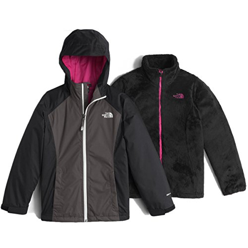 The North Face Girls' Osolita Triclimate Jacket,Graphite Grey,US M by The North Face