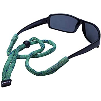 Chums Original Cotton Standard End Eyewear Retainer Colors Green Dorado
