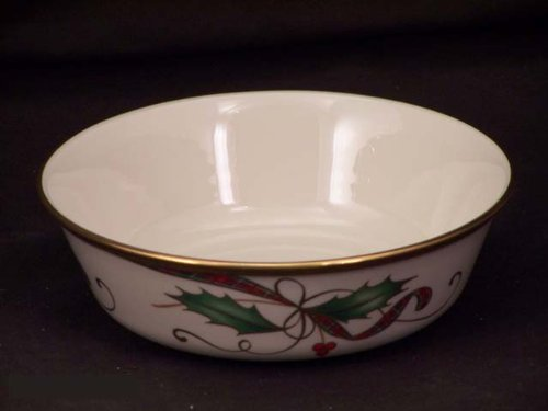 u Gold All-Purpose Bowls (Cream Background Gold Trim)