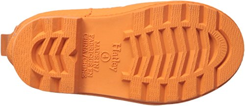 Hatley Kids' Classic Boots Rain Accessory, Green and Orange, 5 M US Toddler by Hatley (Image #2)