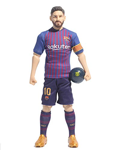 Sockers 2018 19 Messi FCB Action Figure, Blue, 30 cm BanboToys 2