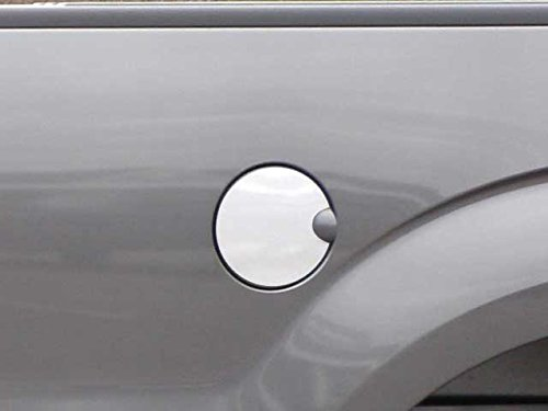 QAA FITS F-150 2009-2014 Ford (1 Pc: Stainless Steel Fuel/Gas Door Cover Accent Trim, 2/4-door) GC49308 Chrome Trim Fuel Door Cover