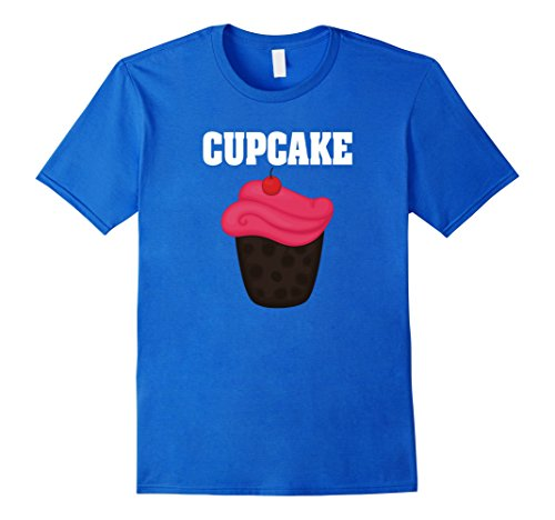 Cup Cake Costumes Ideas (Mens Cupcake Group Halloween Costume T-shirt Small Royal Blue)