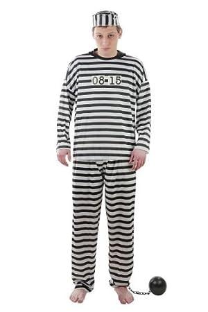 Foxxeo Traje de Prisionero Traje de Prisionero Traje de ...