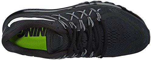 Nike Air Max 2015 Zapatillas de running, Hombre Negro / Blanco (Black/White)