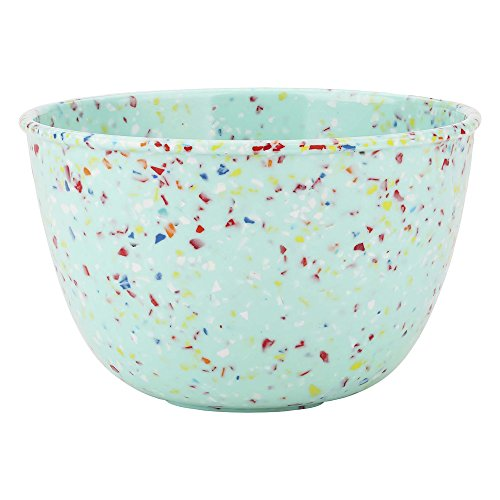Confetti Mixing Bowls - Zak Designs 2316-0321 Confetti Soup Bowl, 24 oz, Mint