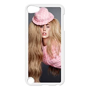 Custom High Quality WUCHAOGUI Phone case Lady Gaga Protective Case FOR Ipod Touch 5 - Case-4